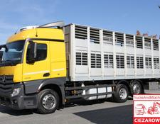 Mercedes-Benz ACTROS 2542 MP4 BDF LAG ALU   FOR ANIMALS TRANSPORT