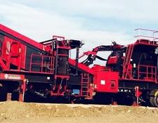 Constmach 250 tph CAPACITY MOBILE LIMESTONE CRUSHER   PRIMARY IMPACTOR