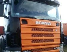 Scania tractor unit 380 KM 4x4