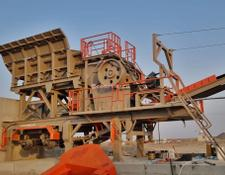 Constmach 120-150 tph CAPACITY MOBILE JAW CRUSHER