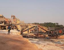 Constmach 100 tph CAPACITY MOBILE CRUSHER WITH 3 STAGES CRUSHING PROCESS