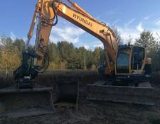 Hyundai tracked excavator 235 LCR 9-A