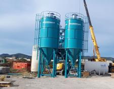 Constmach 50 TONNES CAPACITY CEMENT SILO, READY FROM STOCK
