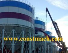 Constmach 1000 TON CAPACITY CEMENT SILO FOR SALE