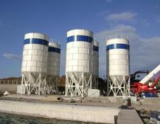 Constmach 300 TONNES CAPACITY BOLTED TYPE CEMENT SILO FOR SALE