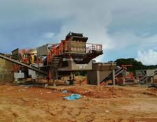 Constmach 120-150 tph MOBILE HARD STONE CRUSHING PLANT, READY AT STOCK!