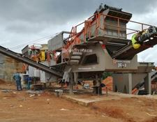 Constmach 60-80 tph MOBILE GRANITE CRUSHING PLANT