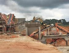 Constmach mobile crushing plant MOBILE CRUSHING PLANT FOR HARD ROCK PROCESS – READY AT STOCK
