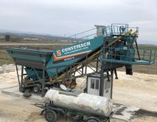 Constmach concrete plant 30 m3/h MOBILE CONCRETE PLANT, 2 YEARS WARRANTY, CALL NOW!