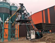 Constmach concrete plant DELIVERY FROM STOCK! 30 m3/h CAPACITY COMPACT CONCRETE PLANT FOR
