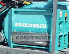 Constmach concrete plant 3 m3 HIGH QUALITY TWIN SHAFT MIXER