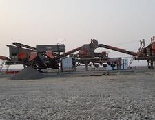 Constmach mobile crushing plant 250 tph CAPACITY MOBILE CRUSHING AND SCREENING PLANT