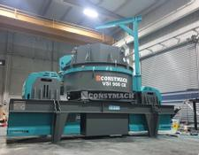 Constmach impact crusher 250 TPH CAPACITY VERTICAL SHAFT IMPACT CRUSHER – VSI 900 CR