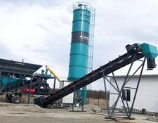 Constmach concrete plant 2 YEARS WARRANTY, CE CERTIFIED CONCRETE PLANT, 45 m3/h CAPACITY